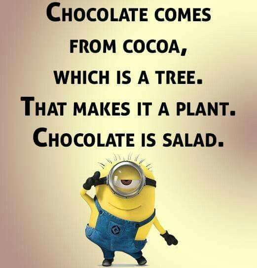 chocolate plant joke