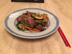 Asian-style Ostrich Stir Fry