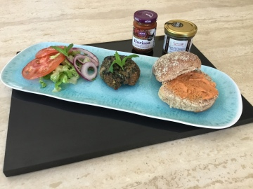 Moroccan burgers to