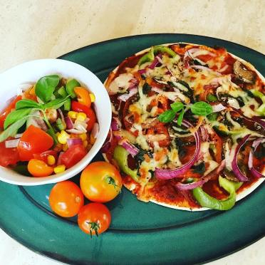 Little Lo Dough Pizza Bursting With Virtuous Veg And